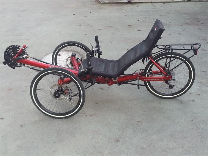 Bici Reclinata Recumbent Su Lapulceit Bici