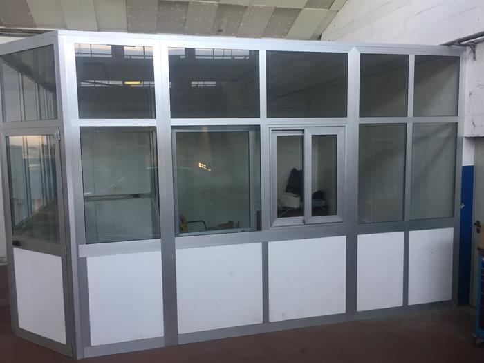 Box Ufficio Alluminio Usato : Box uffici per interni su lapulce arredamento e attrezzature