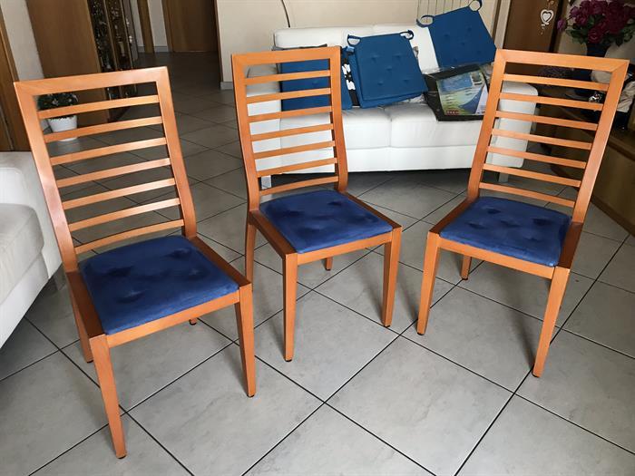 Sedie In Legno Ciliegio.N 3 Sedie In Legno Ciliegio Su Lapulce It Arredamento Casa