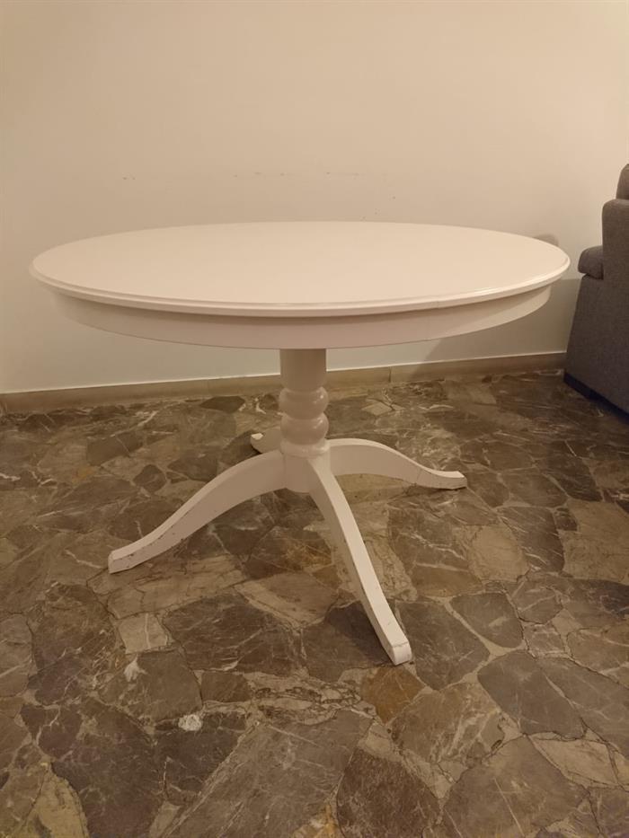 Legno Tavolo Tondo Ikea.Tavolo Allungabile Rotondo Ikea Su Lapulce It Arredamento Casa